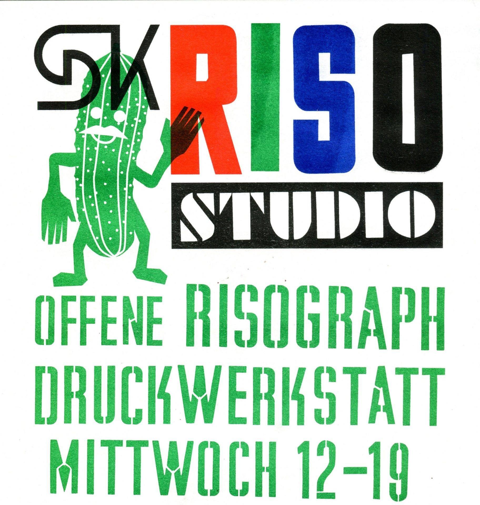 Offene Riso Druckwerkstatt mittwochs 12-19h @ nachladen